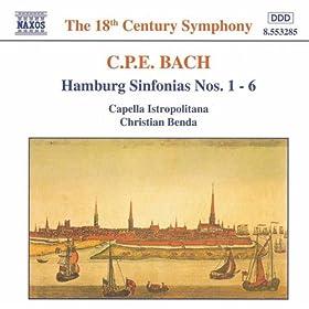 Sinfonia in B flat major, Wq. 182/2, H. 658: III. Presto