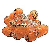 Amazon.co.jpクリスマスも使える電飾 ハロウィンイルミネーション 電池式 LED パンプキン ジャックオーランタン 3m 16球 こうもり ウォールペーパーセット ( Harvestmart )
