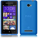 PrimaCase - Blau - TPU Silikon Case für HTC Windows Phone 8X