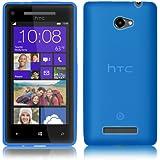 PrimaCase - Blau - TPU Silikon Case für HTC Windows Phone 8X