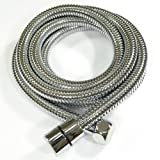 Inox Extended Length Stainless Steel Shower Hose - 100 inches (2.54 meters)