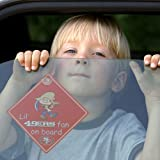 "NFL San Francisco 49Ers ""Lil' Fan On Board"" Sign"