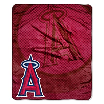 MLB Los Angeles Angels Retro Raschel Throw, 50 x 60-Inch