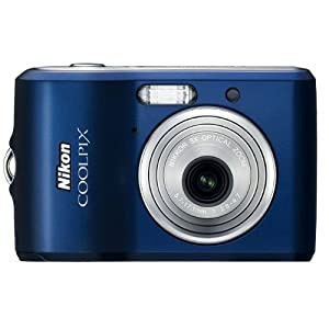 Nikon Coolpix L14 7.1MP Digital Camera with 3x Optical Zoom (Blue) (OLD MODEL)