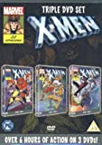 X Men Triple DVD set Season 3 vol 3, vol 4, Season 4 vol 1
