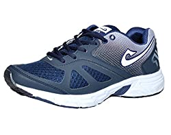 Air Lifestyle Men NV Navy Blue Leather Sports Shoes-6 UK