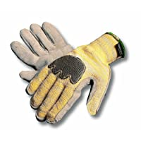 8030 Knit Leather Palm Glove