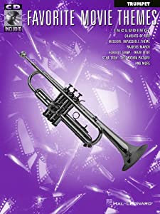 Favorite Movie Themes for Trumpet - BK+CD