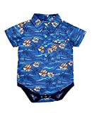 LadyBird Baby Boys Hawaiian Shirt Bodysuit in Multi Size 3-6 Months