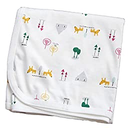 Bamboo Most Double Layers Cotton Swaddle blanket Baby nursery-receiving