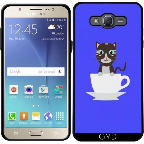 Custodia per Samsung Galaxy J7 2016 (SM-J710) - Gatto In Tazza by ilovecotton