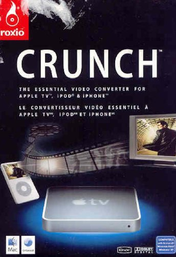 Canada Only Roxio Crunch Video Converter for Apple TV