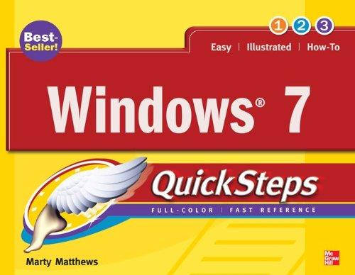 Windows 7 QuickSteps