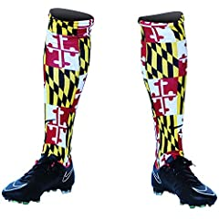 Maryland Flag Custom Sublimated Nike Soccer Socks
