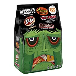 HERSHEY\'S Halloween Snack Size Assortment (70.97-Ounce Bag, 200 Pieces)