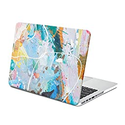 MacBook Pro 13 Retina Case, GMYLE Hard Case Print Frosted for MacBook Pro 13 with Retina display (A1425 and A1502) - Water Color Pattern II (Not fit for MacBook Pro 13)