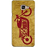 PrintVisa Designer Back Case Cover For Samsung Galaxy On Max (Vintage Powerfull Motocycle)