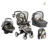 Hauck Disney Baby Malibu All In One Travel System, Pooh Spring In The Woods