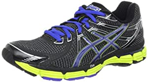 ASICS Men's GT-2000 Running Shoe,Black/Brilliant Blue/Lime,9 D US