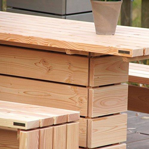 binnen-markt Musterstück (Holzmuster) Gartenmöbel Douglasie Natur günstig online kaufen