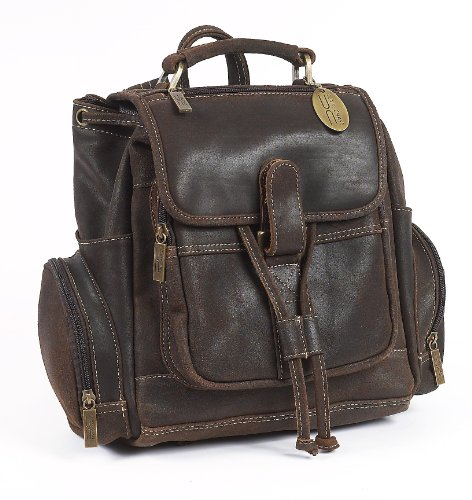 B0055AIT4E Claire Chase Uptown Back Pack, Distressed Brown, One Size