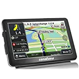 Carelove Sliver Frame Car GPS 7 Inch Navigation 8G Touch Screen Lifetime Free Map Update