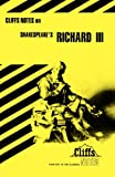 Shakespeare's Richard III (Cliffs Notes) (0822000717) by Lowers, James K