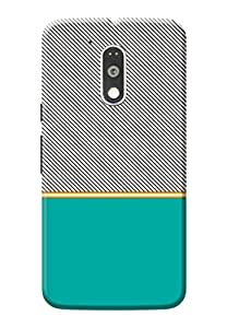 Moto G4 Plus Back Cover KanvasCases Premium Designer 3D Printed Lightweight Hard Case