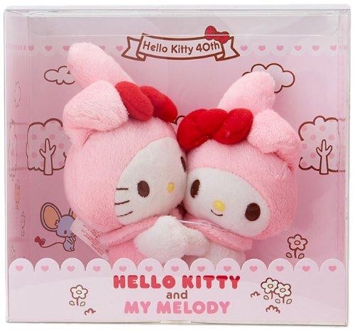 [Hello Kitty]X 40th anniversary of Kitty my melody plush