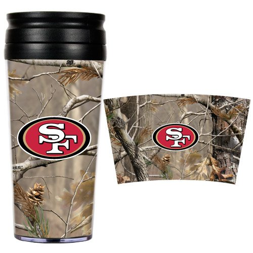 NFL San Francisco 49ers Open Field Travel Tumbler at Amazon.com