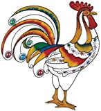 Wall Decorations Copper And Gem Rooster Decoration Collectible Decor