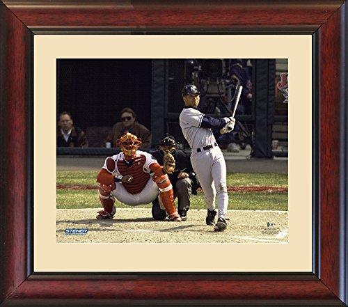 Derek Jeter 'April 1St Game Hr In 1996' 16X20 Framed Photo front-695001
