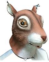 Unisex Latex Squirrel Mask Halloween Masks Costume Mask