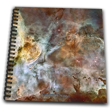 Db_76816_2 Sandy Mertens Space Gallery - Galaxy And Nebula - Eta Carinae Nebula By Nasa Hubble Telescope - Drawing Book - Memory Book 12 X 12 Inch