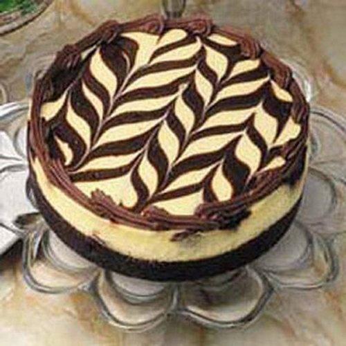 Double Sugar-free Marble Truffle Cake