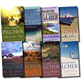 Rosamunde Pilcher Rosamunde Pilcher Collection 9 Titles in 8 Books Set (Flowers in the Rain, Sleeping Tiger, The Blue Bedroom, Wild Mountain Thyme, Another View, The Empty House, The Day of the Storm, The Carousel/Voices in Summer)