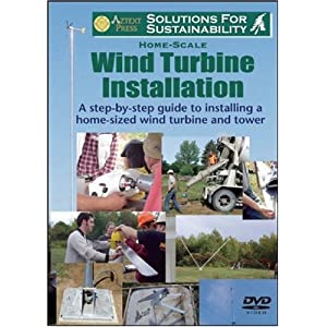 Home-Scale Wind Turbine Installation