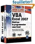 VBA Excel 2007 - Coffret de 2 livres...