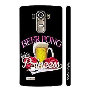 LG G4 Rocking a Beer Pong designer mobile hard shell case by Enthopia