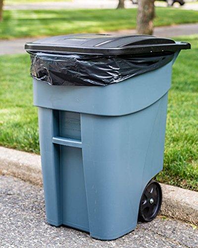 Plasticplace Trash Bags 65 Gallon 50 Bags Black New Ebay