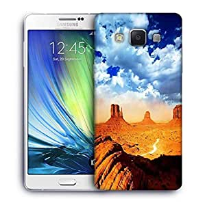Snoogg Dried Mountains Designer Protective Phone Back Case Cover For Samsung Galaxy ON5