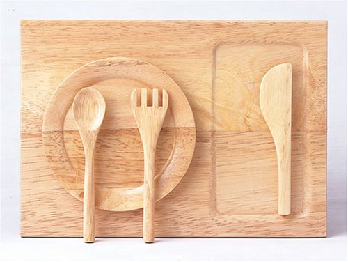 Santoys Wood Plate and Utensil Set - Buy Santoys Wood Plate and Utensil Set - Purchase Santoys Wood Plate and Utensil Set (Santoys, Toys & Games,Categories,Pretend Play & Dress-up,Sets,Cooking & Housekeeping,Dishes & Tea Sets)
