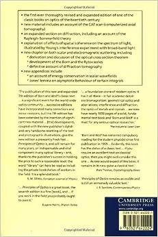Born Wolf Principles Of Optics 7th Edition