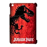 Custom Jurassic Park Design for iPad Mini Case Cover with Crystal Coating-No Fading Design-Perfect Protector Bumper