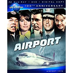 Airport [Blu-ray + DVD + Digital Copy] (Universal's 100th Anniversary)