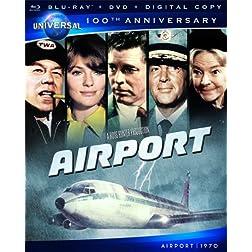 Airport [Blu-ray + DVD + Digital Copy] (Universal's 100th Anniversary)