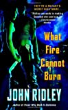 What Fire Cannot Burn (0446612030) by Ridley, John
