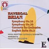 Symphonies Nos.10 & 30 Concerto for Orchestra Engl