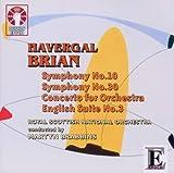 echange, troc Brian, Bendall, Rsno, Brabbins - Symp 10 & 30 / Cto for Orch / English Suite 3