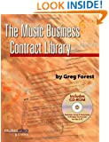 Music Business Contract Library (Hal Leonard Music Pro Guides)